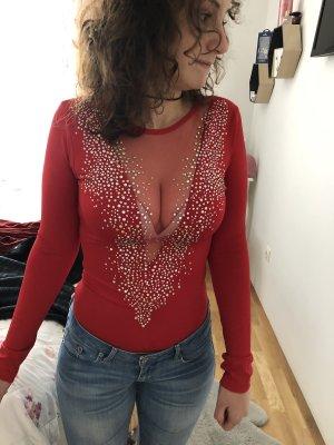 Elegantes, festliches Langarm-Shirt