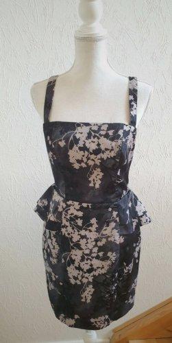 H&M Vestito peplo nero