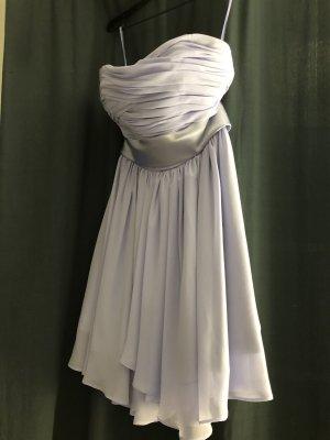 Elegantes hell lila Mini-Kleid