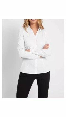 Elegantes Hemd weiß Größe 34 Bluse Business