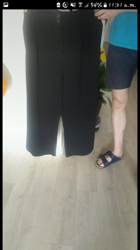 H&M Pantalon palazzo noir