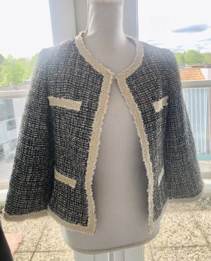Blazer en tweed multicolore polyester