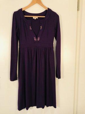 Elegantes Jersey Kleid mit Strasssteinen