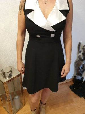 Canda Mini Dress white-black