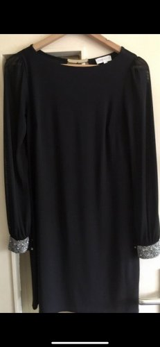 Apricot Evening Dress black