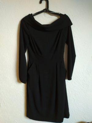 Barbara Schwarzer Suknia wieczorowa czarny Tkanina z mieszanych włókien