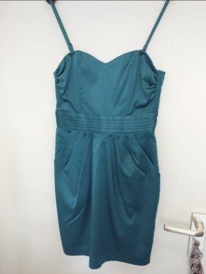 H&M Balloon Dress cadet blue-petrol