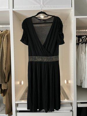 Elegantes Kleid für Anlässe Freizeitkleid schwarzes Kleid von Mango