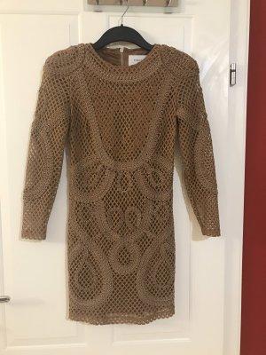 Bik Bok Mini Dress bronze-colored