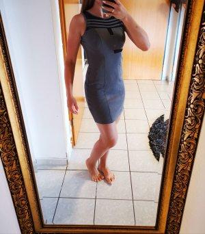 elegantes Kleid grau
