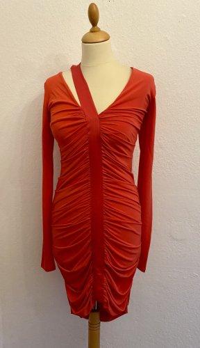 Pinko Sukienka ze stretchu łosowiowy Włókno octanowe