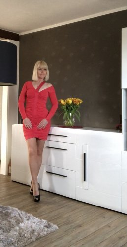 Elegantes Kleid in Rot von PINKO Gr.S,36