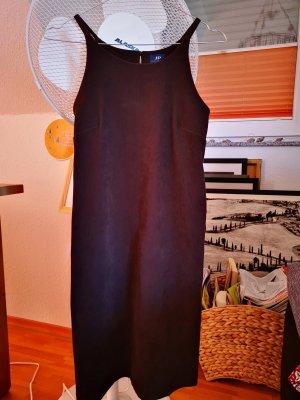 elegantes Kleid in Wildlederoptik