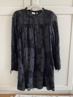 Aritzia Sukienka tunika czarny-antracyt