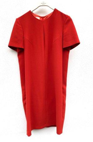 Cacharel Robe trapèze rouge brique