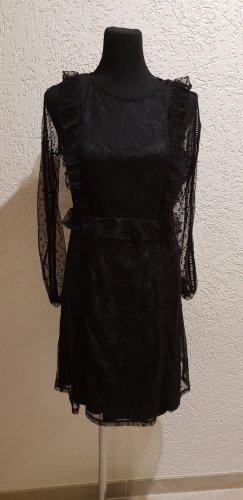 Elegantes Kleid - Transparent - Gr. L - Neu mit Etikett