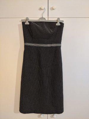 Ann Taylor Sheath Dress black-white cotton