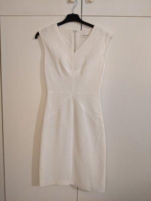 Calvin Klein Midi Dress white