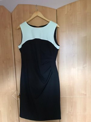 Sa.Hara Pencil Dress black-white