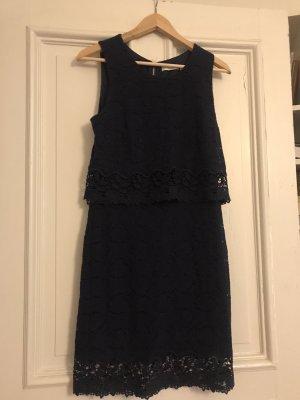 Elegantes Kleid von Mademoiselle R dunkelblau 36
