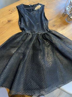 Elegantes Kleid von Maje schwarz/silber