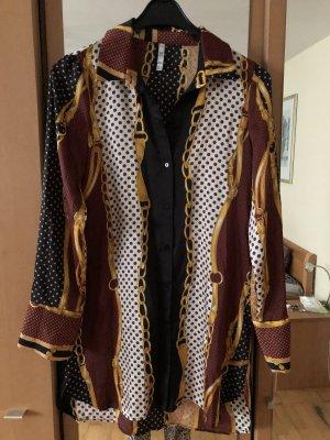 Elegantes Kleid von Zara mit Kettenmuster