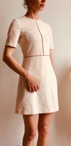 Elegantes Kleid von Zara mit tollen Details in creme