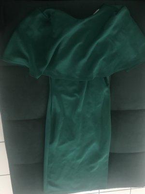 Elegantes Kleid waldgrün