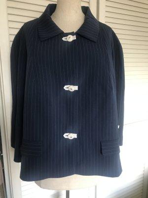 Ladies' Suit dark blue mixture fibre