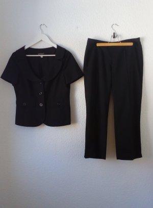 Apart Trouser Suit black cotton