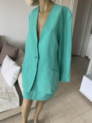 Elegantes Kostüm .. Sommer .. Business .. mintgrün .. Gr. 36 38/40 # ECCO # Autumn