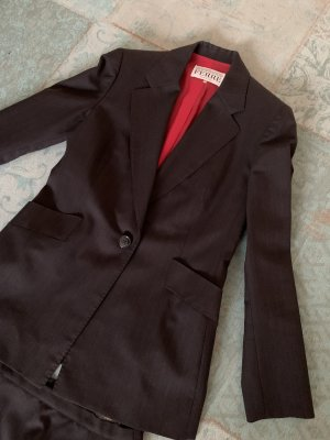 Gianfranco Ferré Ladies' Suit black-dark red