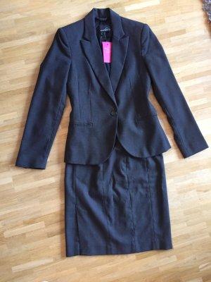Elegantes, modernes Business Kostüm/ Anzug-Kombination, Mango, Gr. 34
