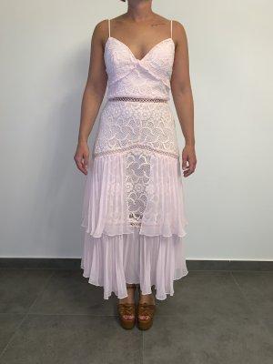 Elegantes modernes Spitzenkleid von True Decadence Gr. L rosa