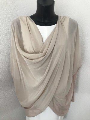 Elegantes Oversize Shirt aus Seide vom Designerlabel All Saints, neuwertig !