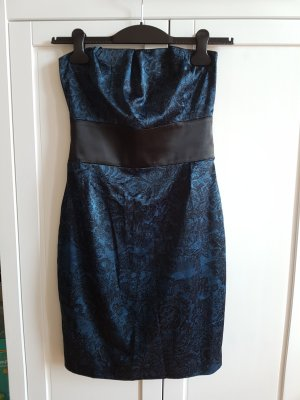 Orsay Vestido bustier azul