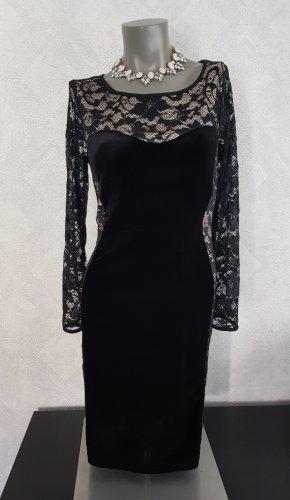 Komplimente Lace Dress black-nude