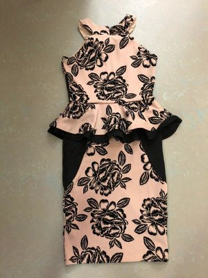 elegantes Schößchenkleid, Gr. 38