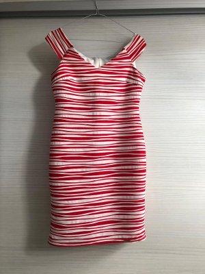 elegantes schulterfreies Kleid, Gr. M