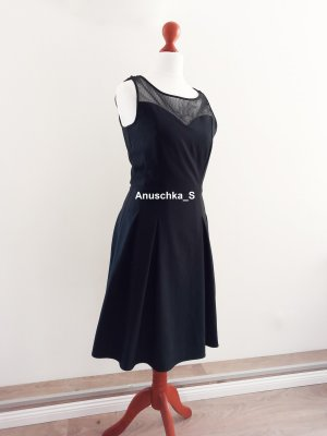 Orsay Petticoatjurk zwart-antraciet Gemengd weefsel