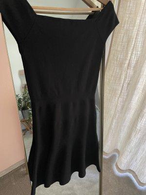 Elegantes schwarzes Kleid Gr. 36