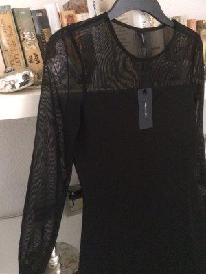 Elegantes schwarzes Kleid, Gr. 36 S / NEU mit Etikett