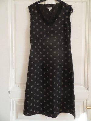Elegantes schwarzes Kleid von Stefanel Gr. 36