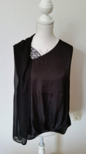 Elegantes schwarzes Zara Top