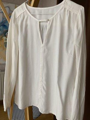 1.2.3 Paris Blusa de manga larga blanco Seda