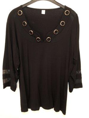 Bon Prix V-Neck Shirt black