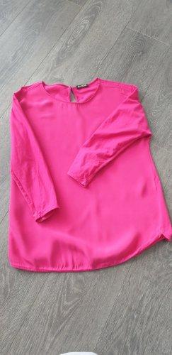 Massimo Dutti Boatneck Shirt pink-violet