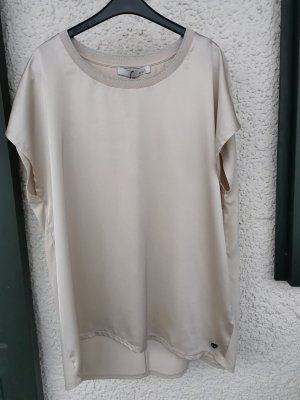 Qui Bluzka o kroju koszulki jasnobeżowy