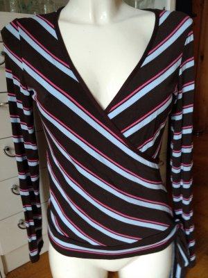 elegantes Shirt Wickeloptik
