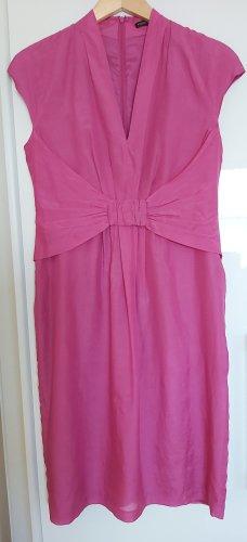 Elegantes Sommerkleid aus Baumwolle-Seiden Mix